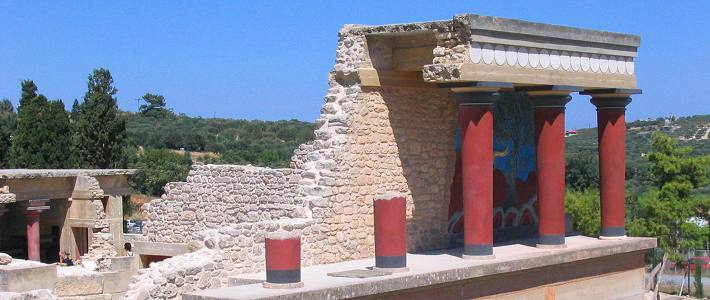 Knossos, Crete Greece